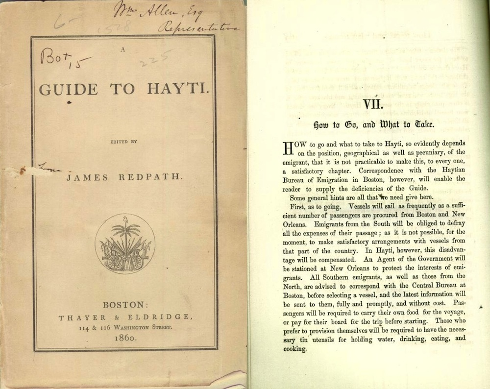 A Guide to Hayti by James Redpath (1861)