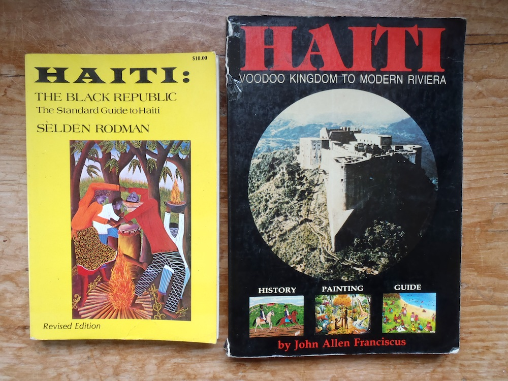 1980s guidebooks to Haiti