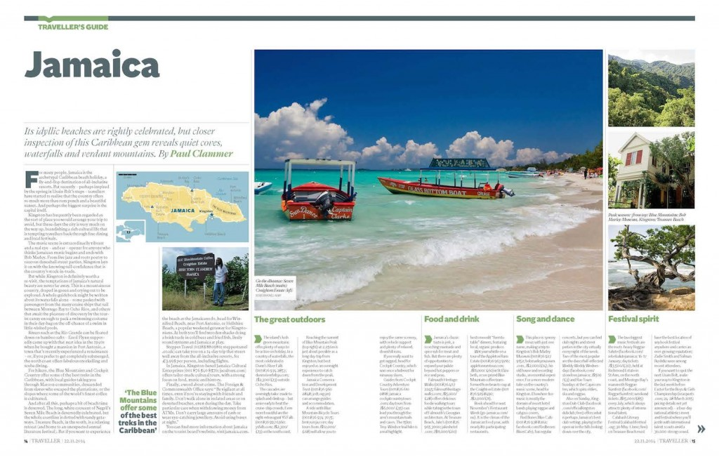 Traveller's Guide to Jamaica (Paul Clammer, Independent)