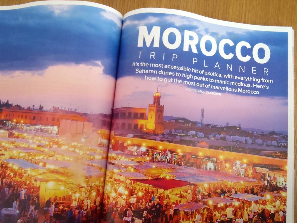 Morocco Trip Planner (Wanderlust, October 2015)