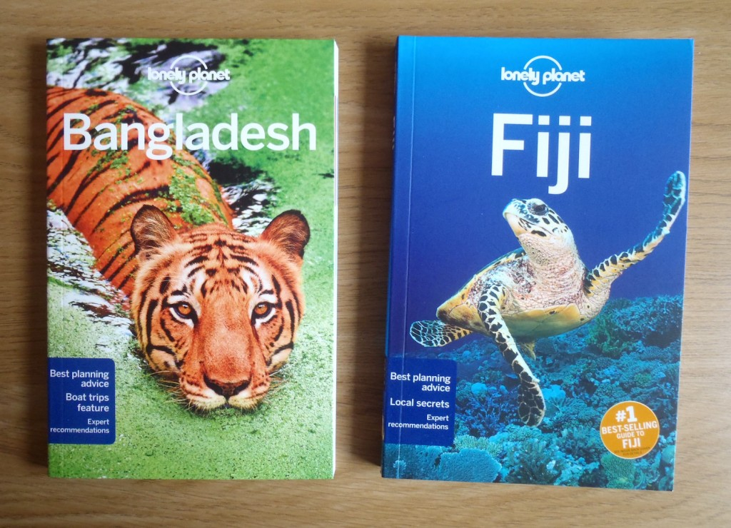 Lonely Planet Bangladesh (2016) & Lonely Planet Fiji (2016)