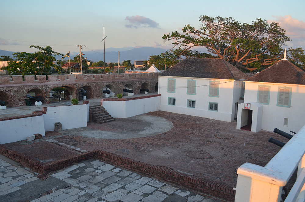 Fort Charles in Port Royal, Jamaica. Photo courtesy of Kent M.