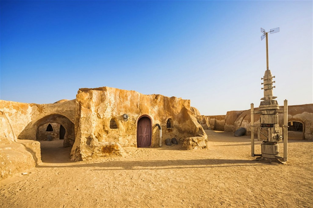 The Star Wars set of Mos Espa, near Ong Jemal, Tunisia
